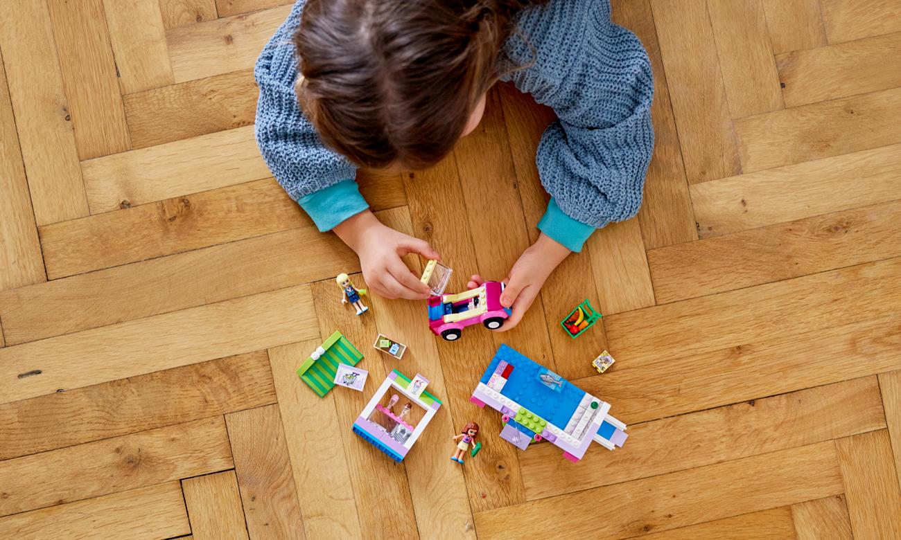 zestaw lego dla małych dzieci