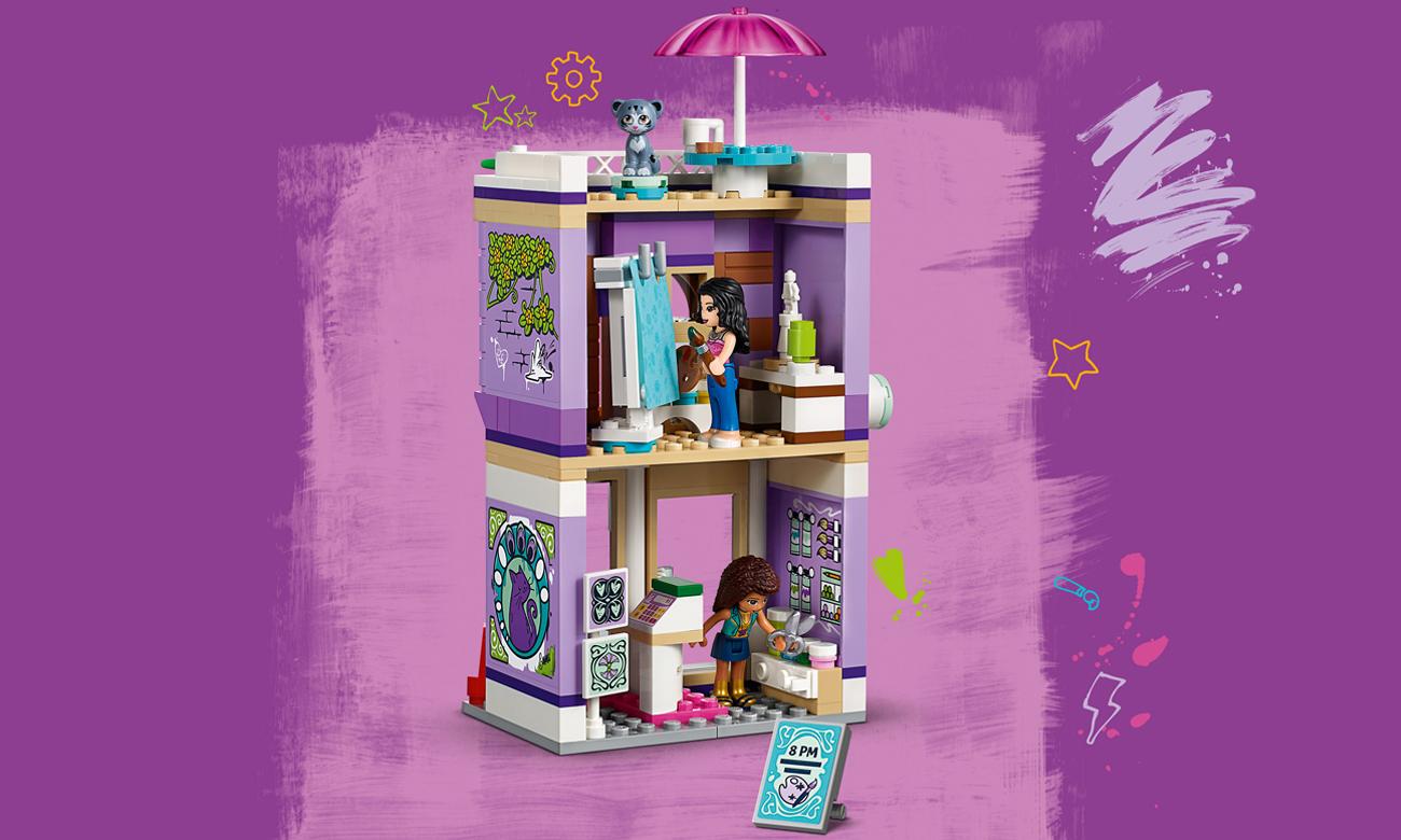 Lego Friends Atelier Emmy Klocki Lego Sklep Internetowy Alto