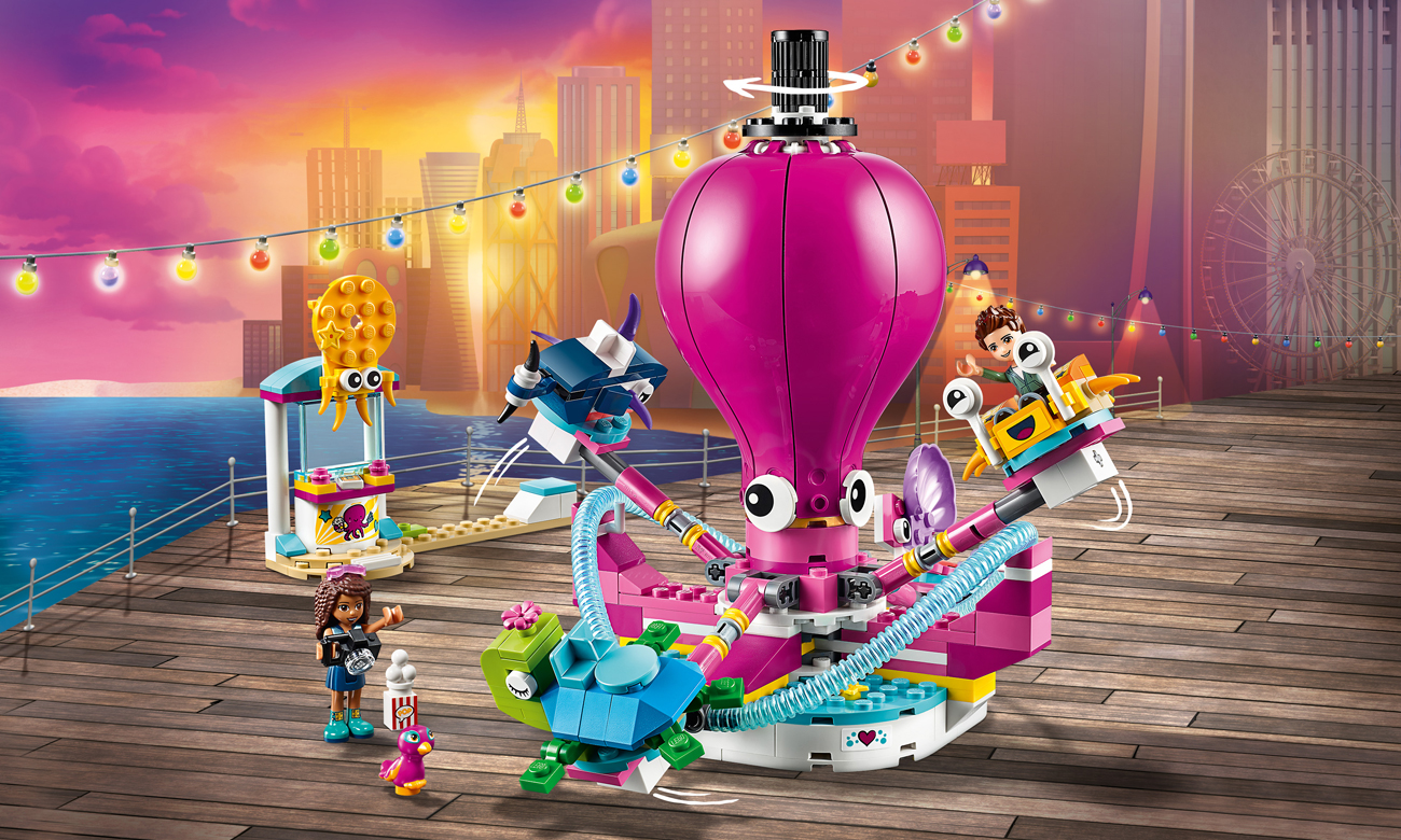 LEGO Friends Karuzela z ośmiornicą
