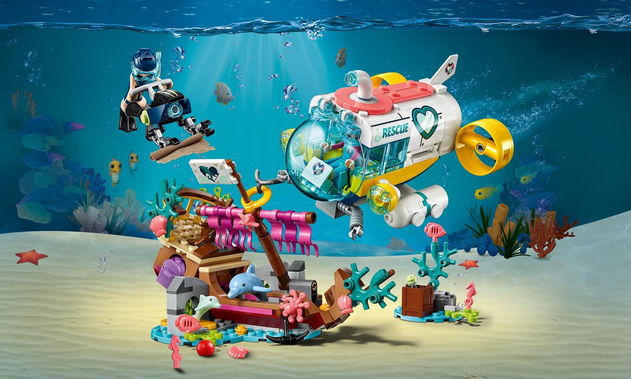 LEGO Friends Na ratunek delfinom