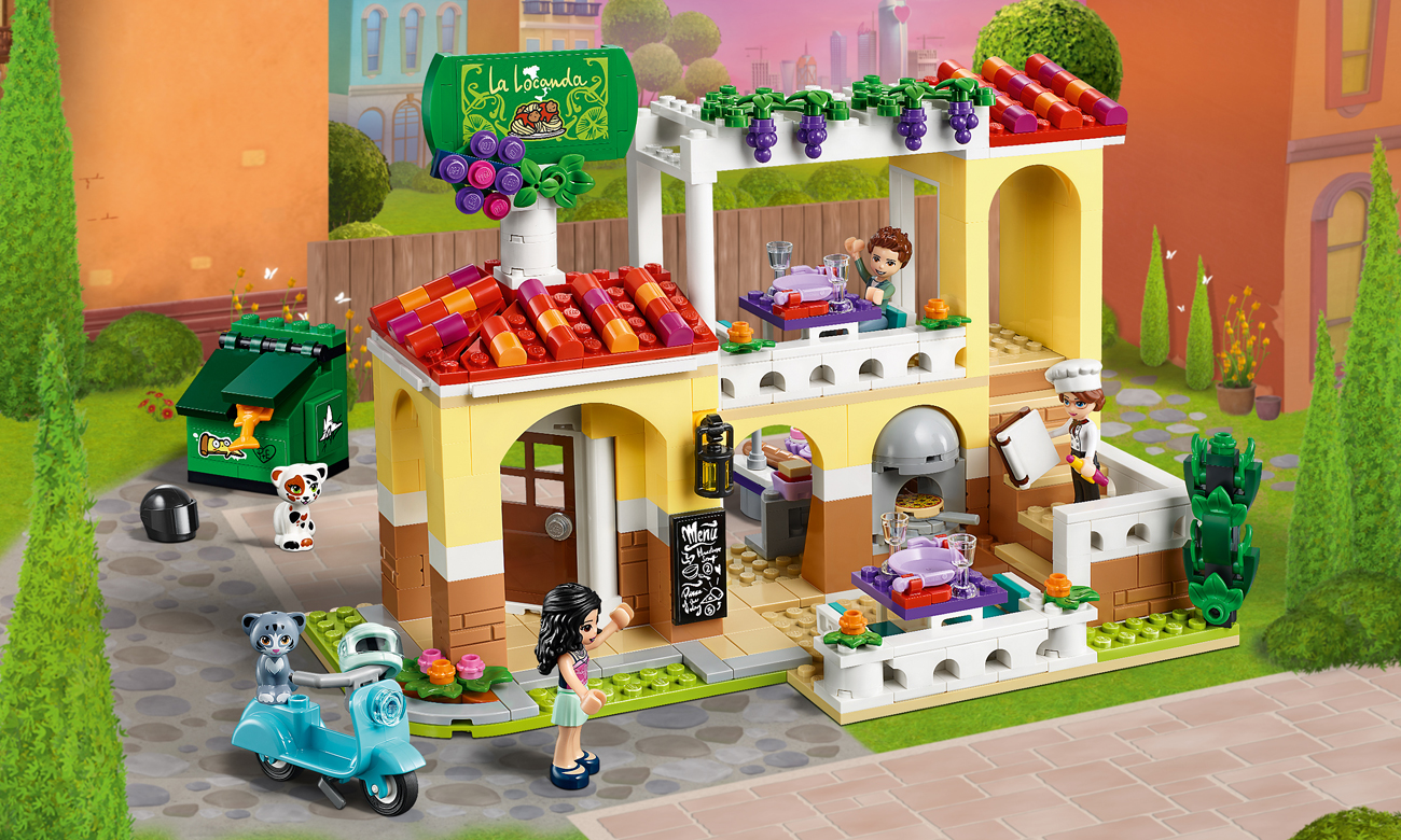LEGO Friends Restauracja w Heartlake