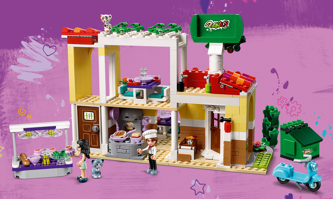 lego friends restauracja