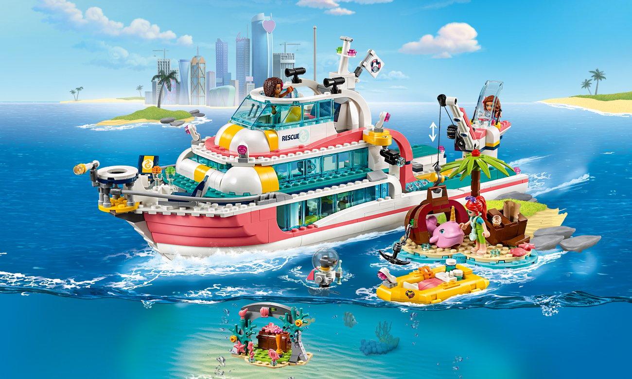 LEGO Friends Centrum ratunkowe w latarni morskiej