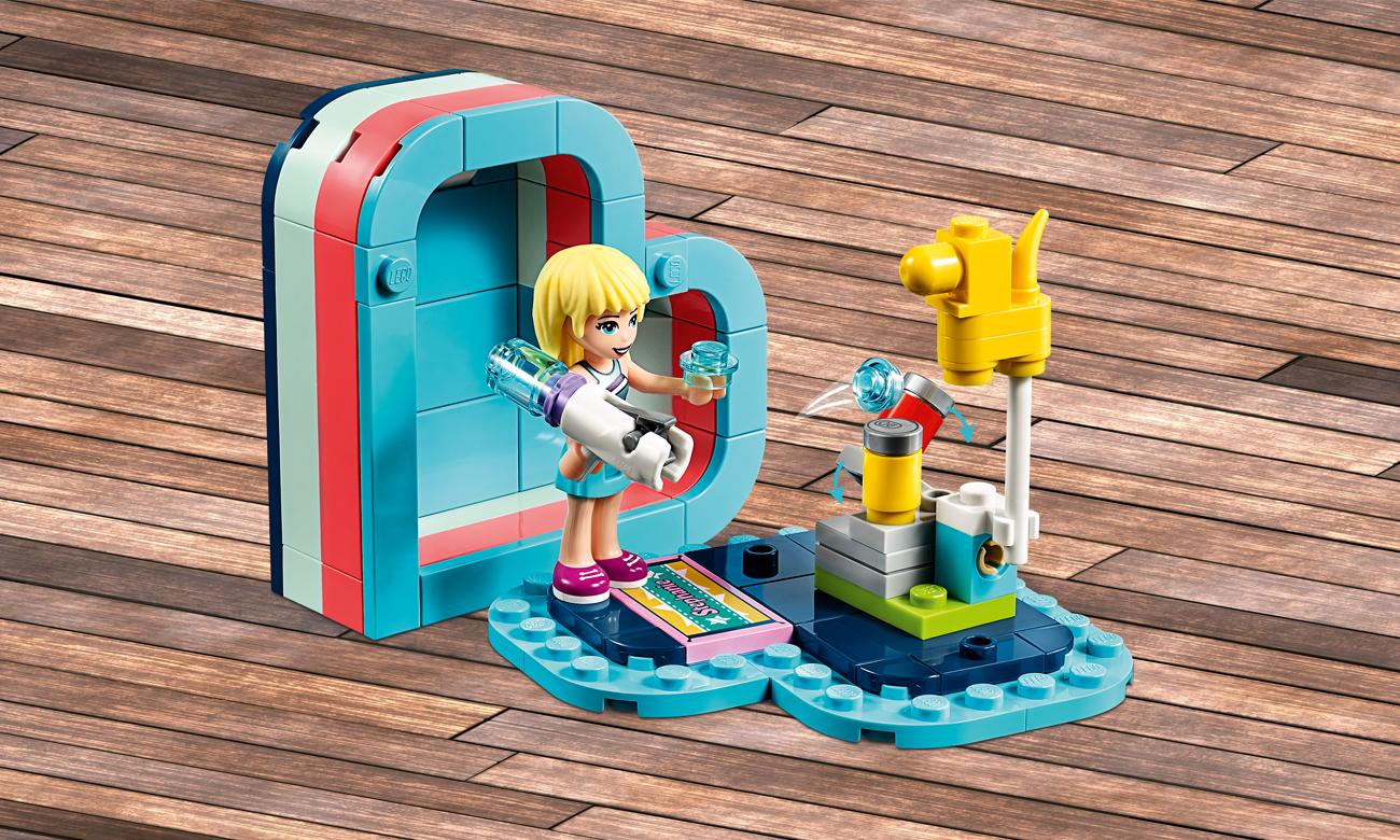 LEGO Friends Pudełko w kształcie serca Stephanie