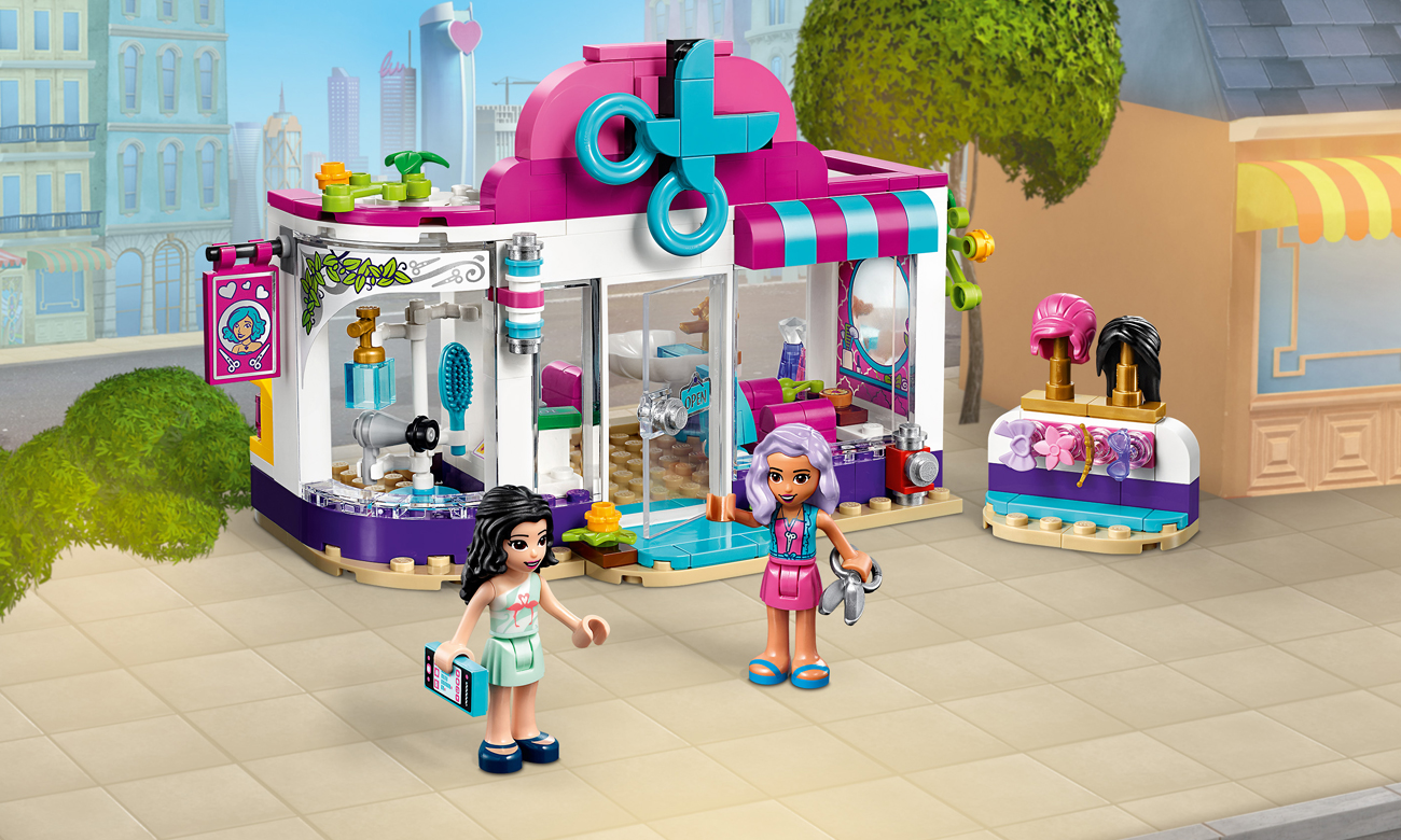 LEGO Friends Salon fryzjerski w Heartlake