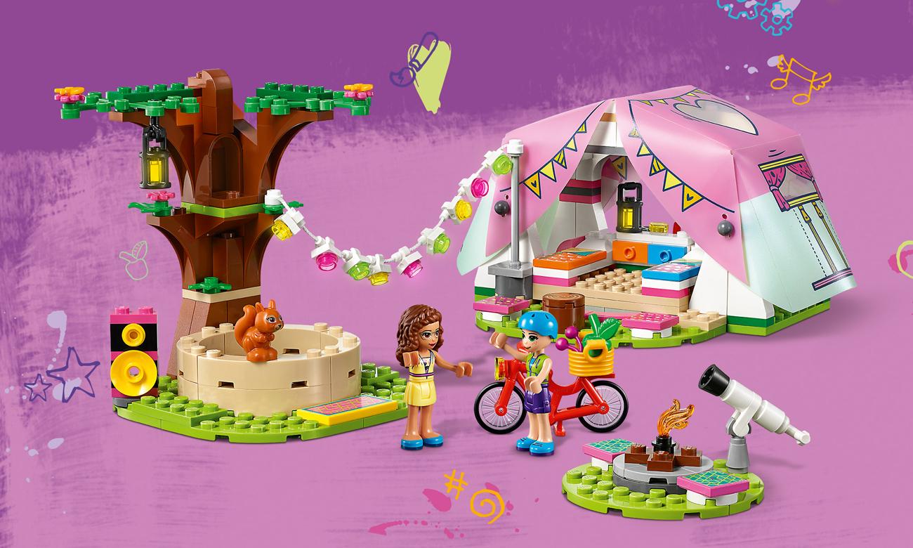 lego friends namiot