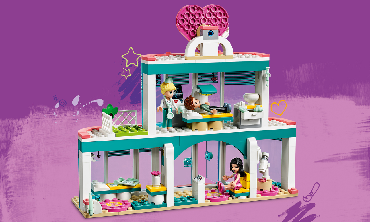 lego friends kuchnia