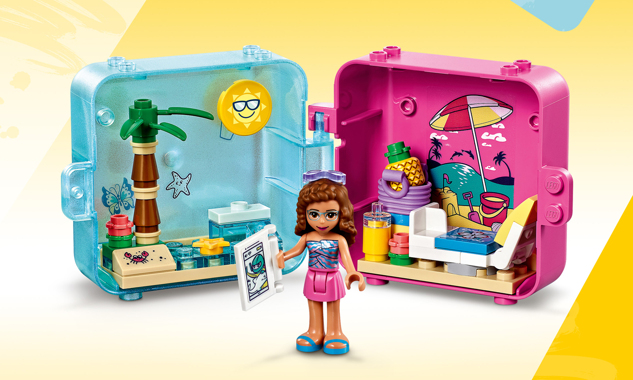 LEGO Friends Letnia kostka do zabawy Olivii