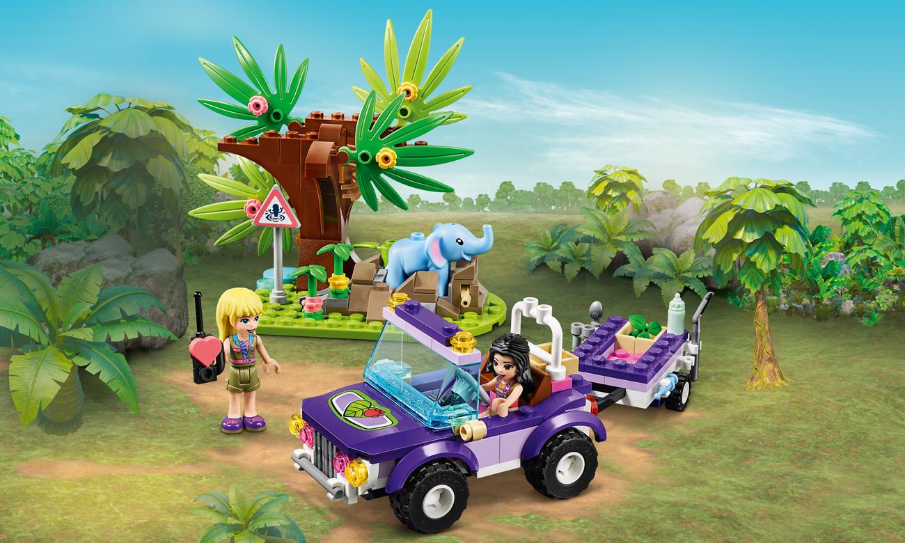 LEGO Friends Na ratunek słoniątku
