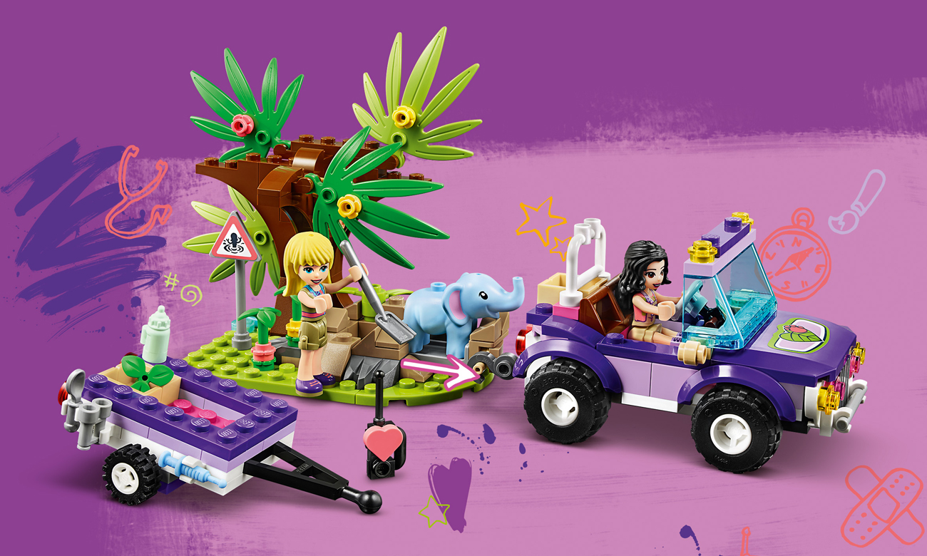 lego friends dżungla