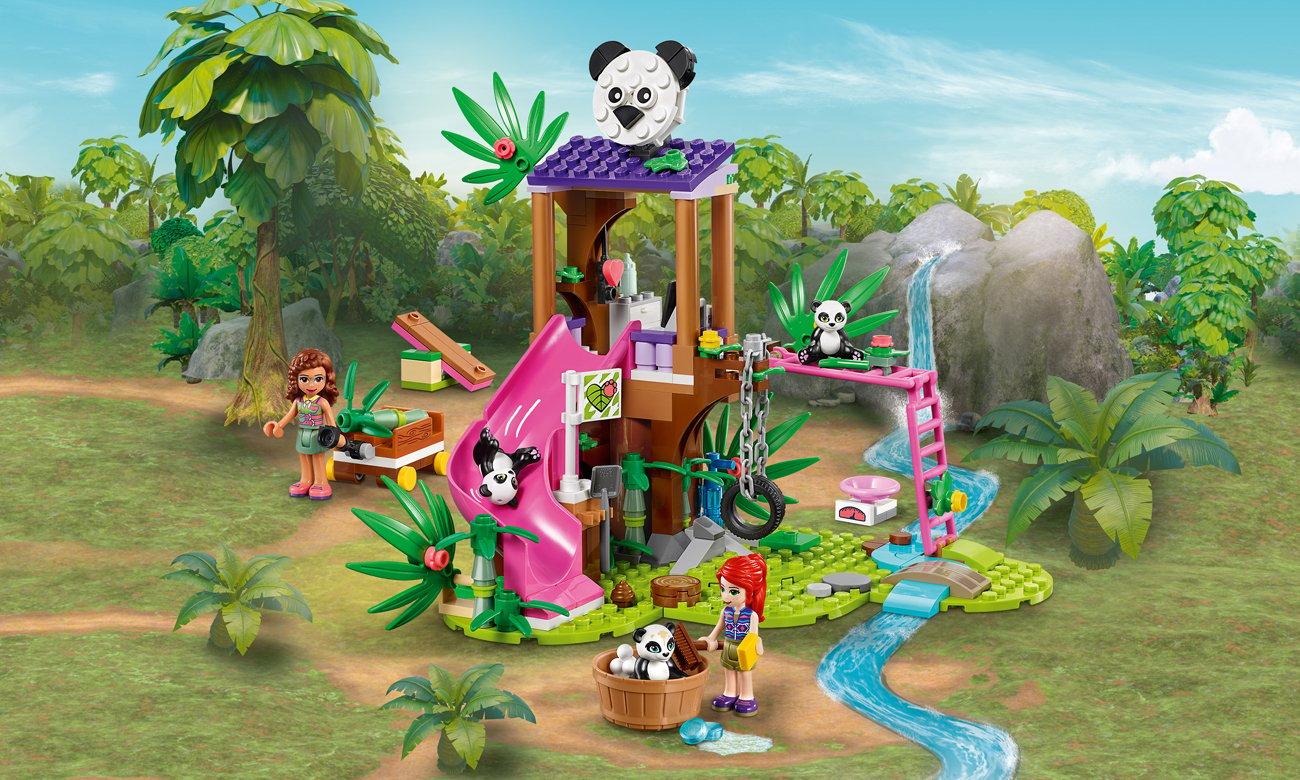 LEGO Friends Domek pand na drzewie