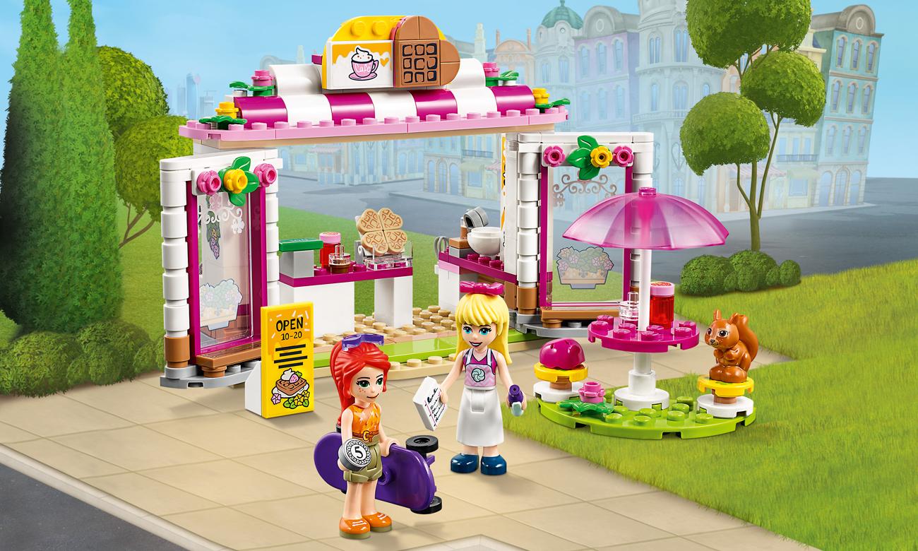 LEGO Friends Parkowa kawiarnia w Heartlake City