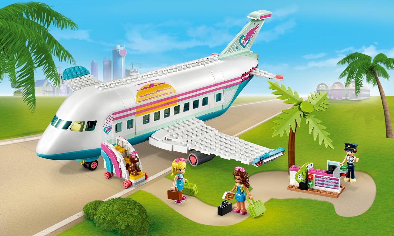 LEGO Friends Samolot z Heartlake City