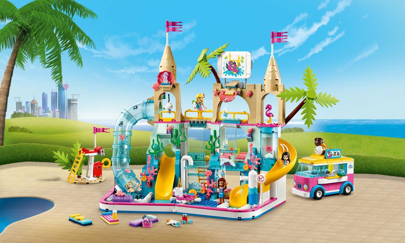 LEGO Friends Letnia zabawa w parku wodnym