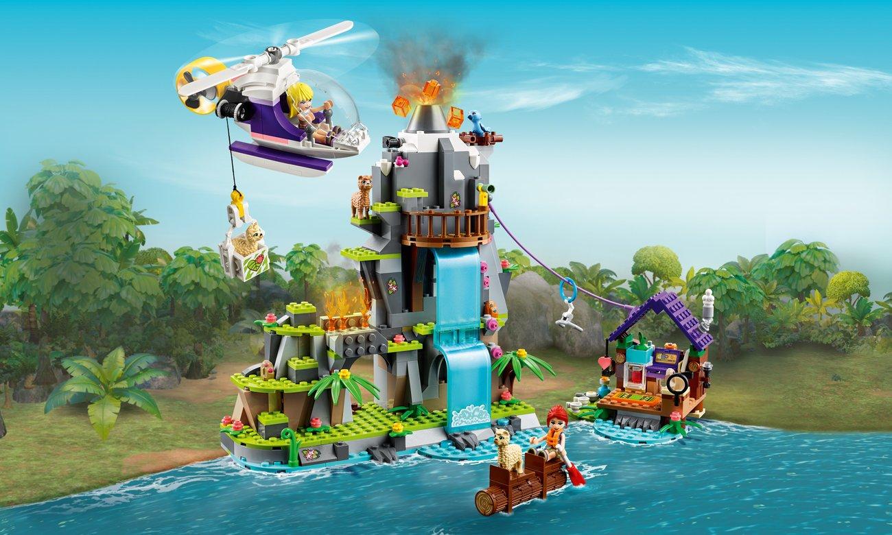 LEGO Friends Na ratunek alpakom