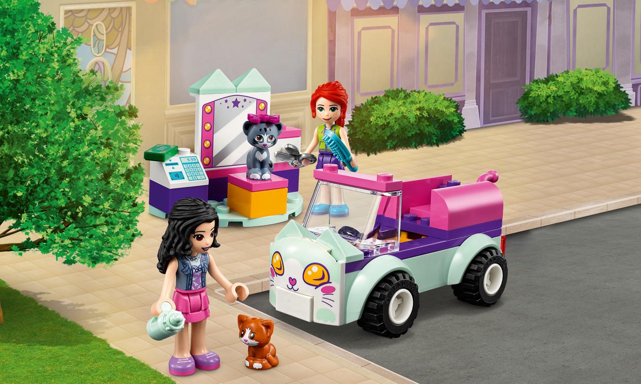 LEGO Friends Samochód do pielęgnacji kotów