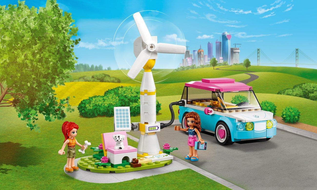 LEGO Friends Samochód elektryczny Olivii