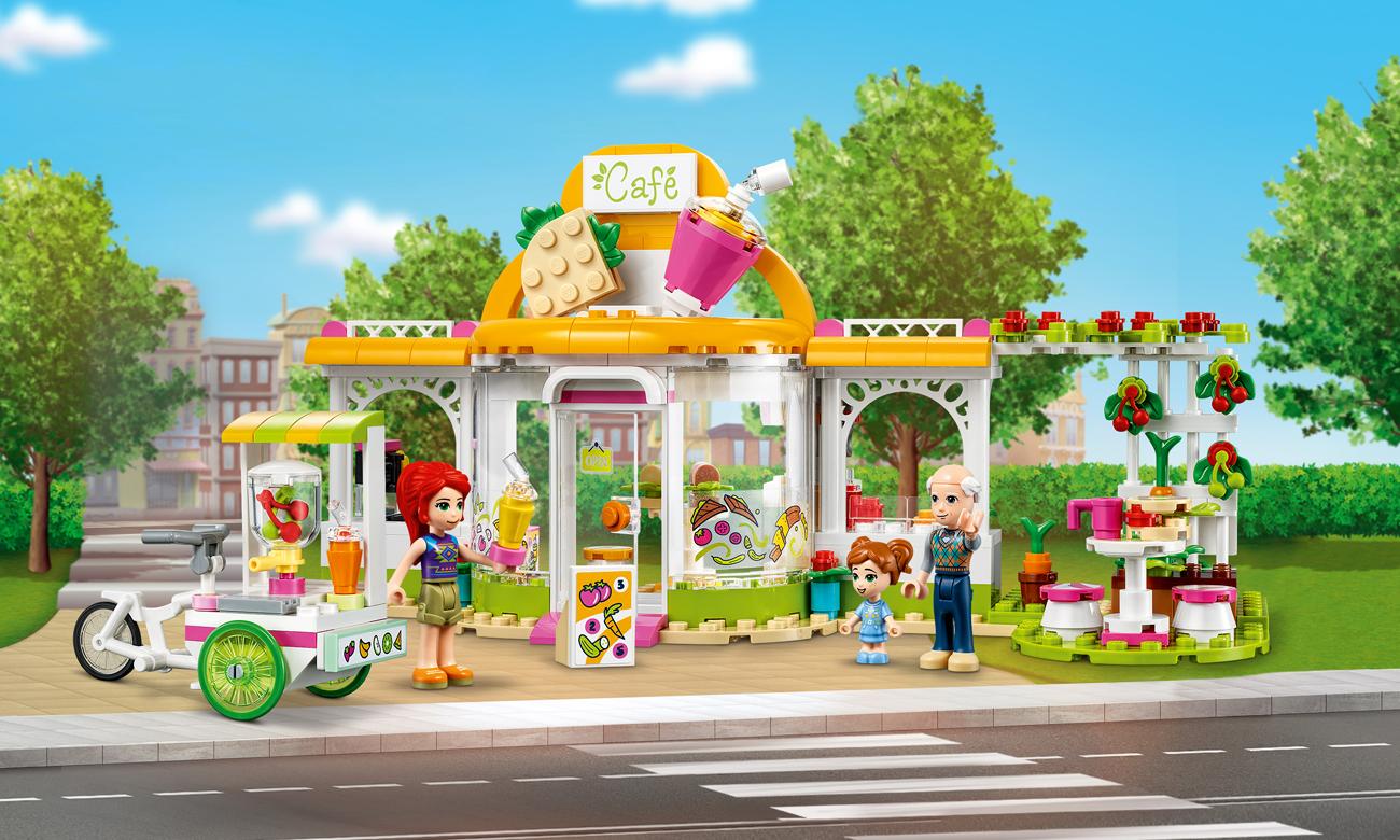 LEGO Friends Ekologiczna kawiarnia w Heartlake City