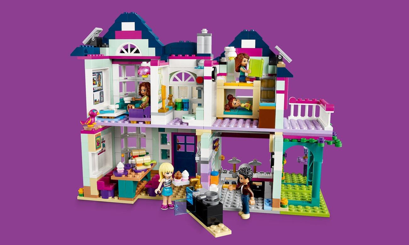 lego friends zestaw z domem
