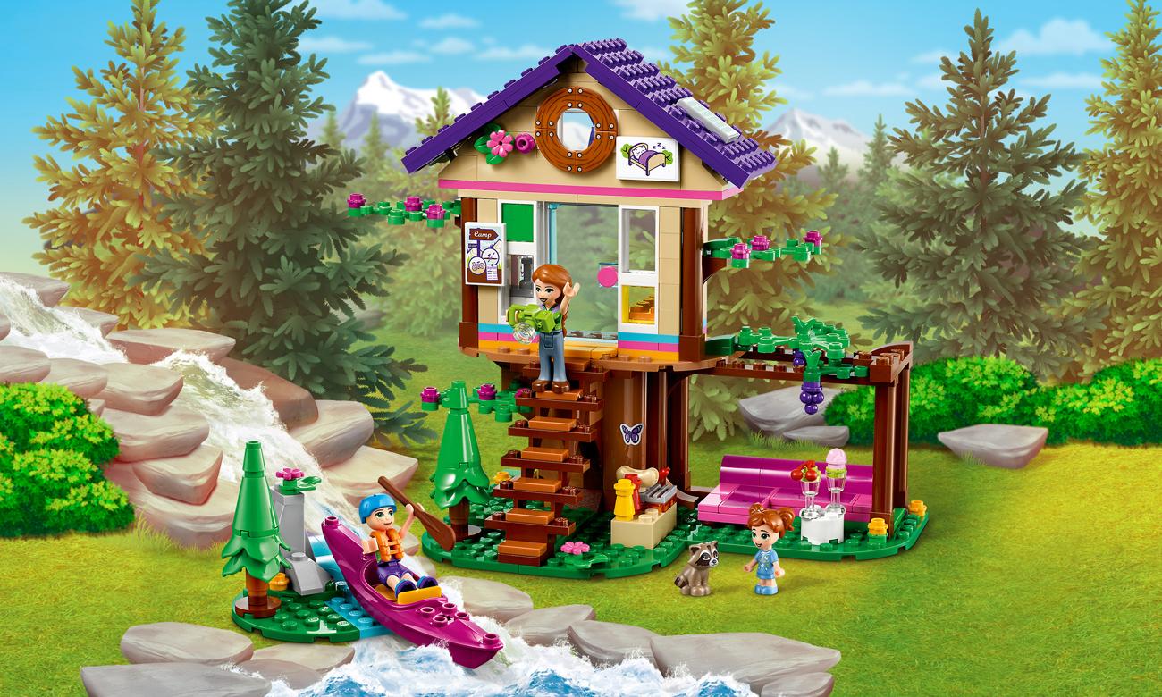 LEGO Friends Leśny domek