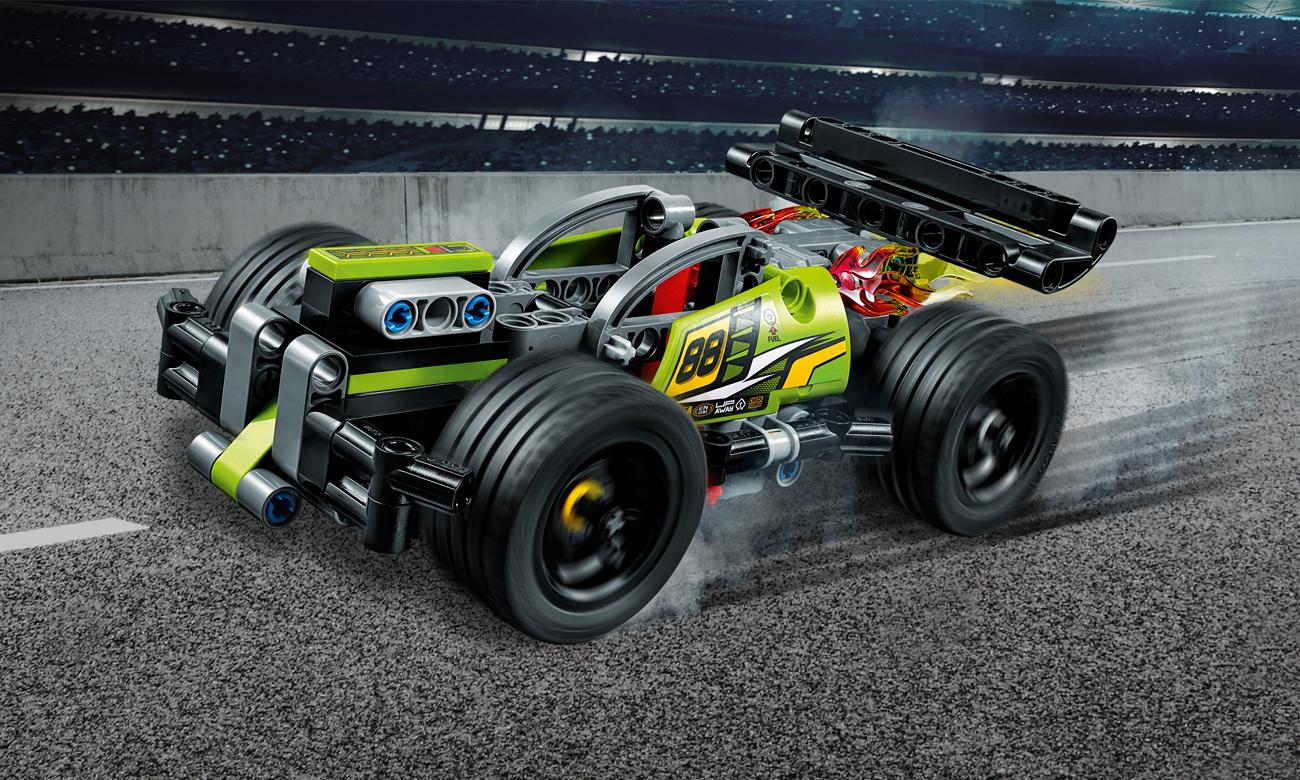 LEGO Technic Żółta wyścigówka