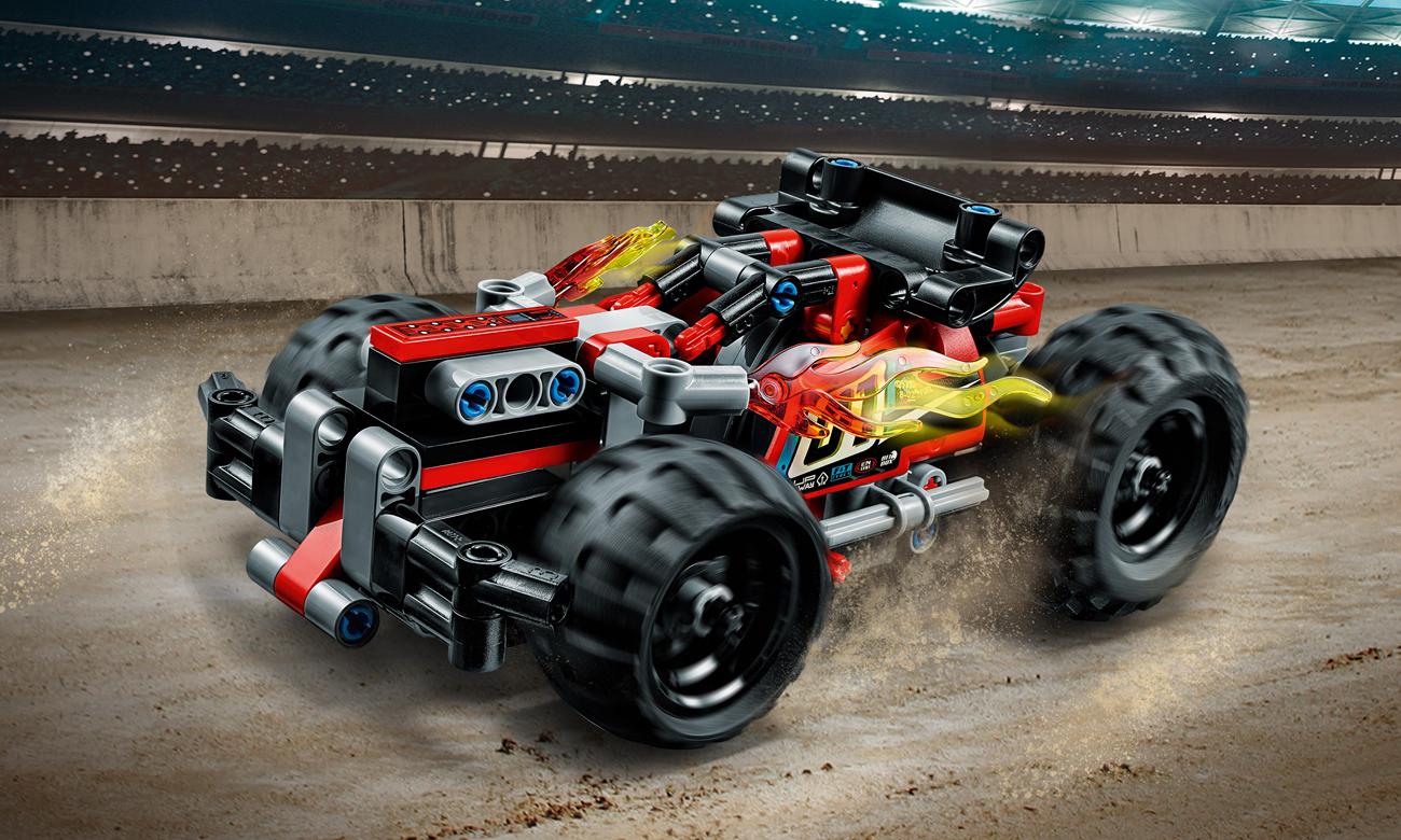 LEGO® Technic Czerwona wyścigówka