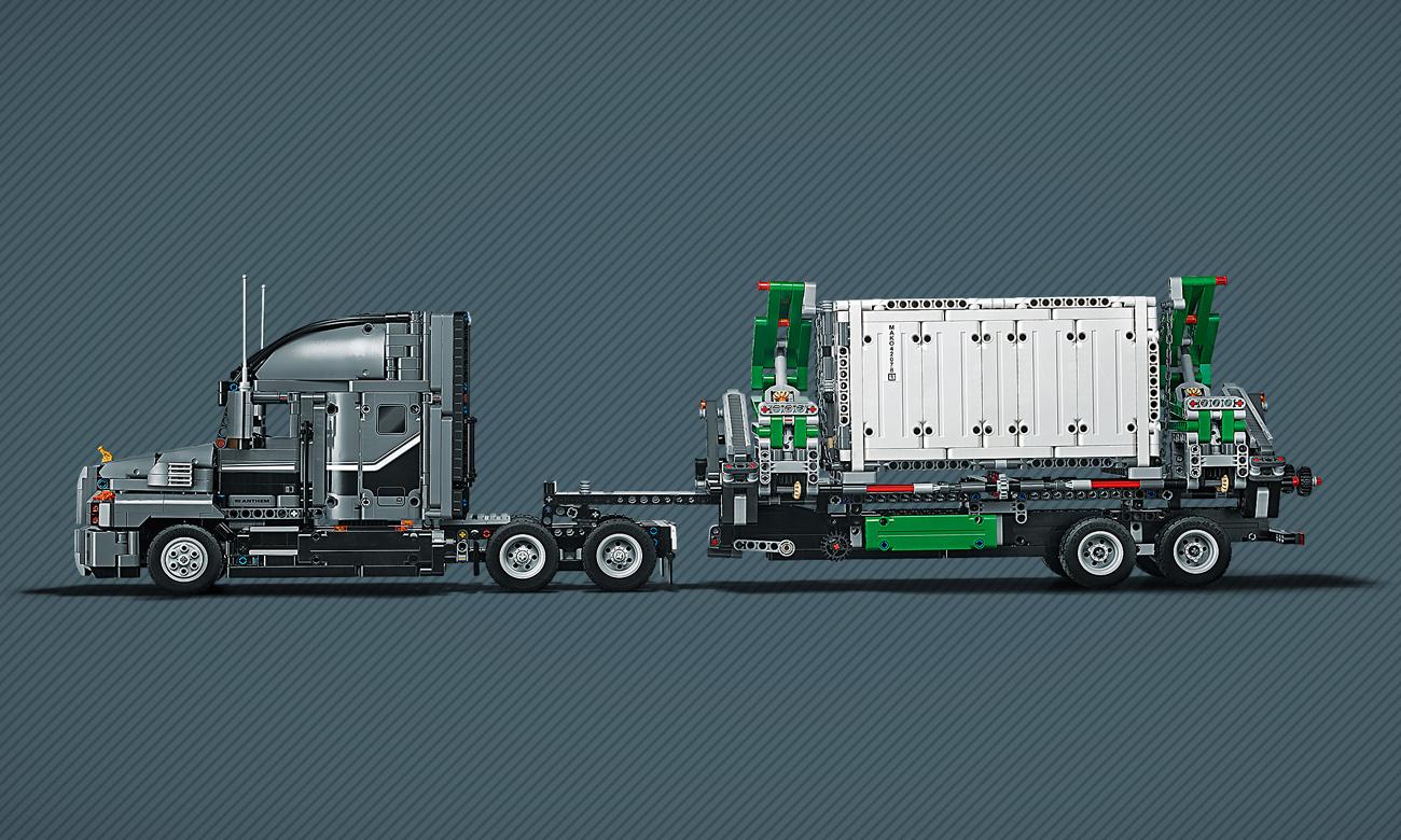 lego ciężarówka