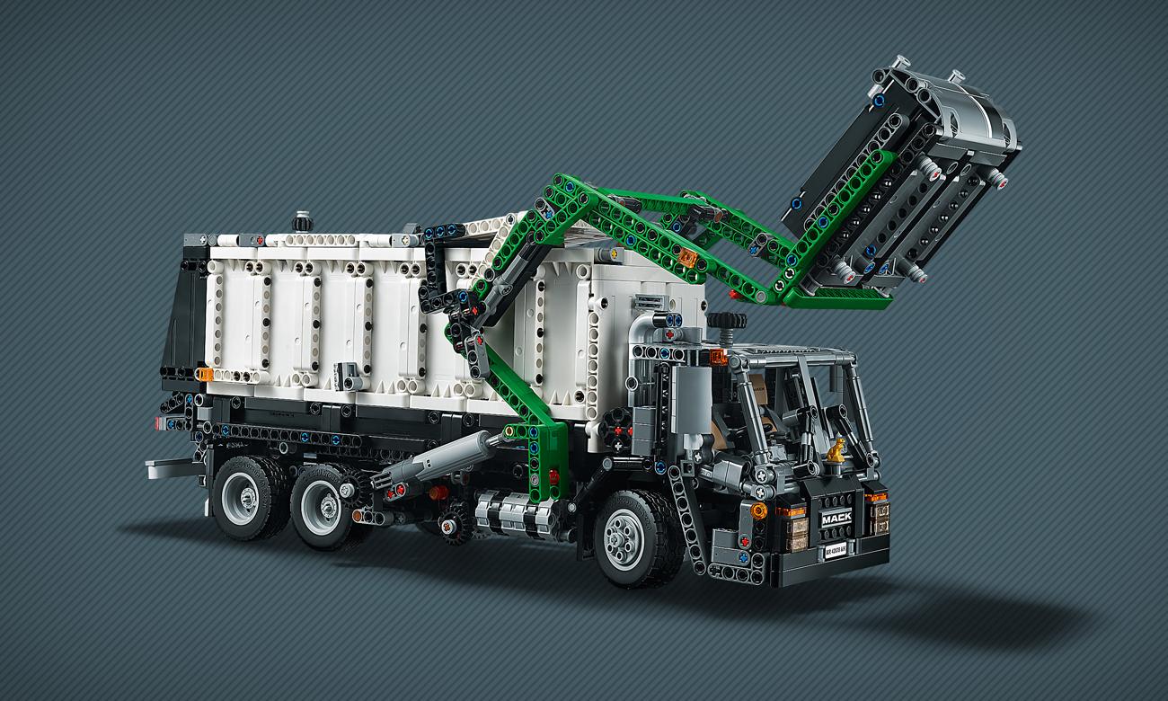lego technik cieżarówka mack