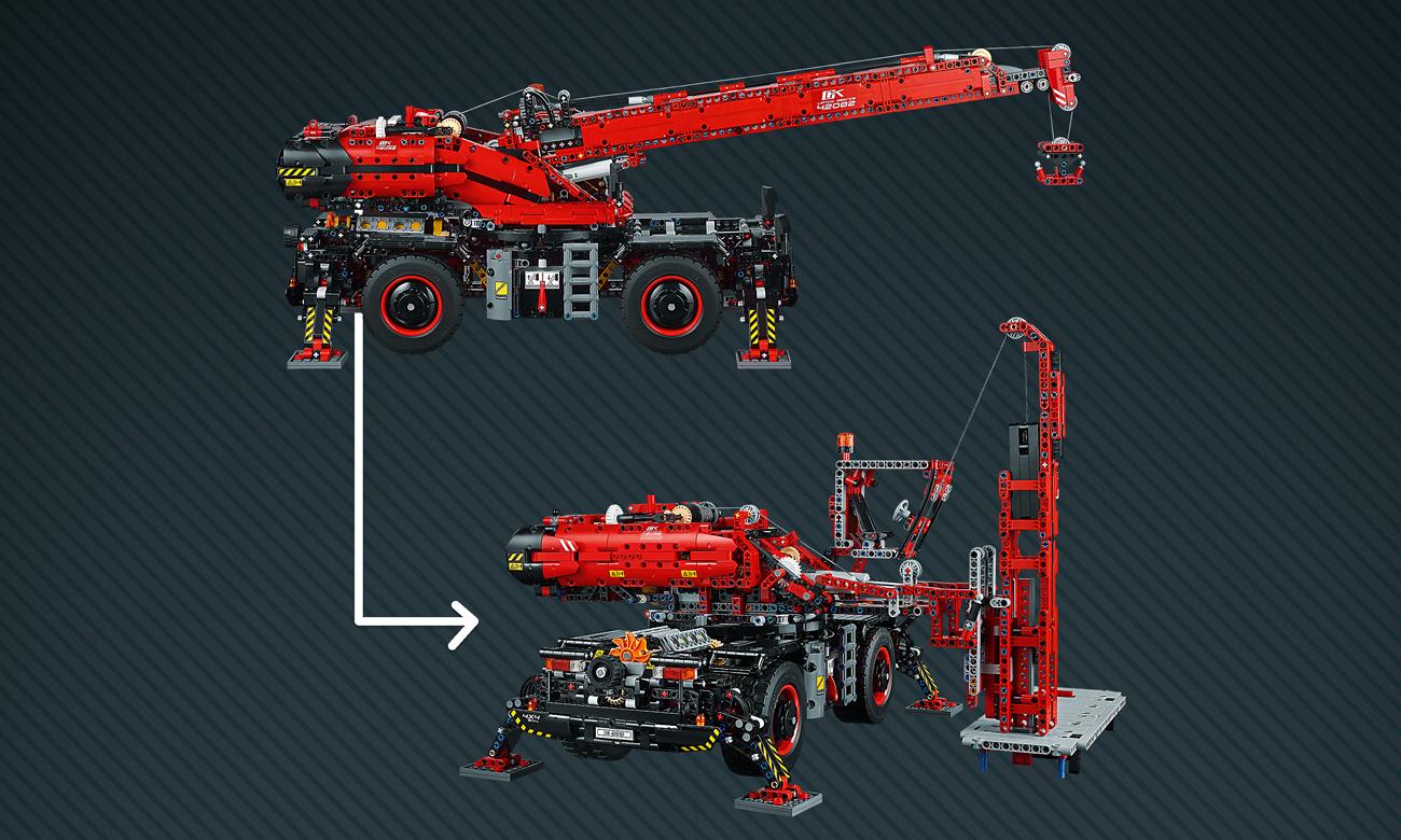 lego technic model koparki