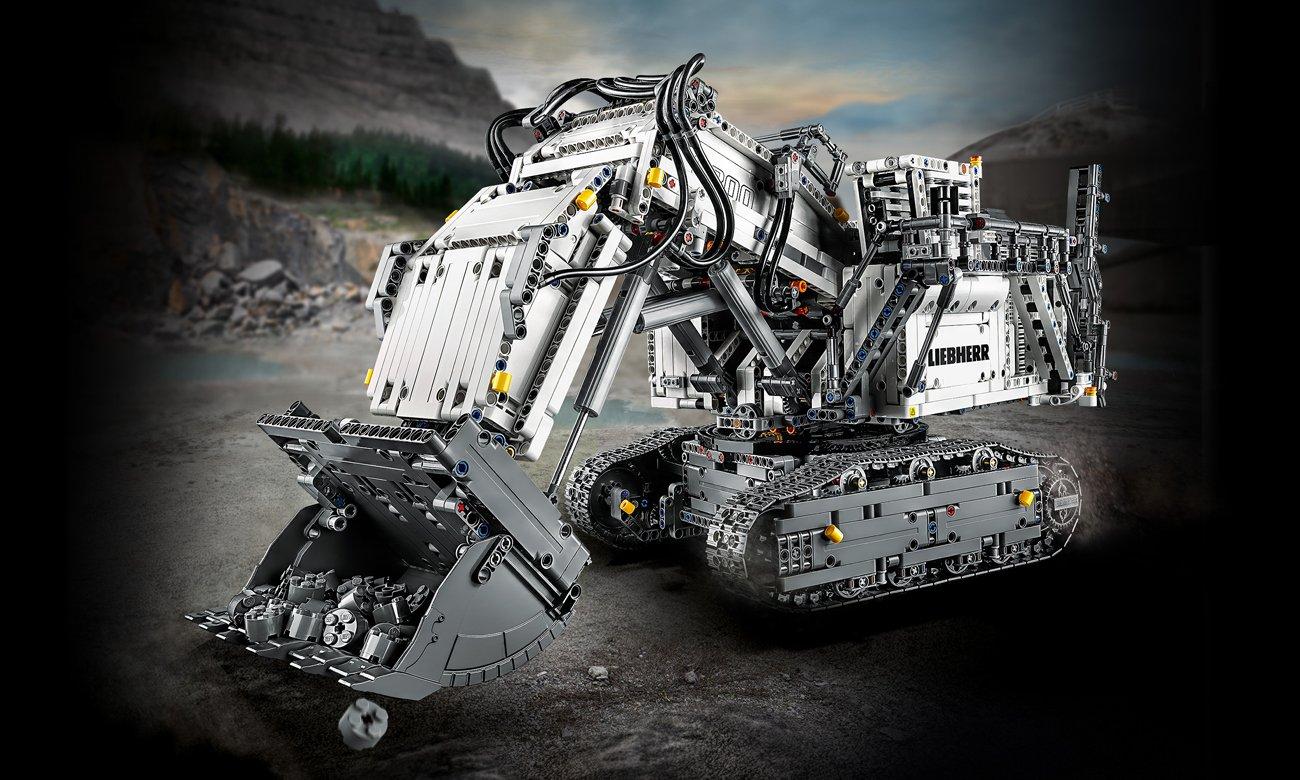 LEGO Technic Koparka Liebherr R 9800