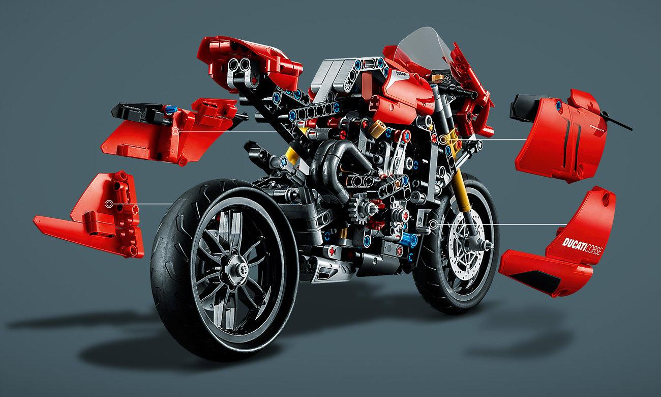 lego motocykl ducati
