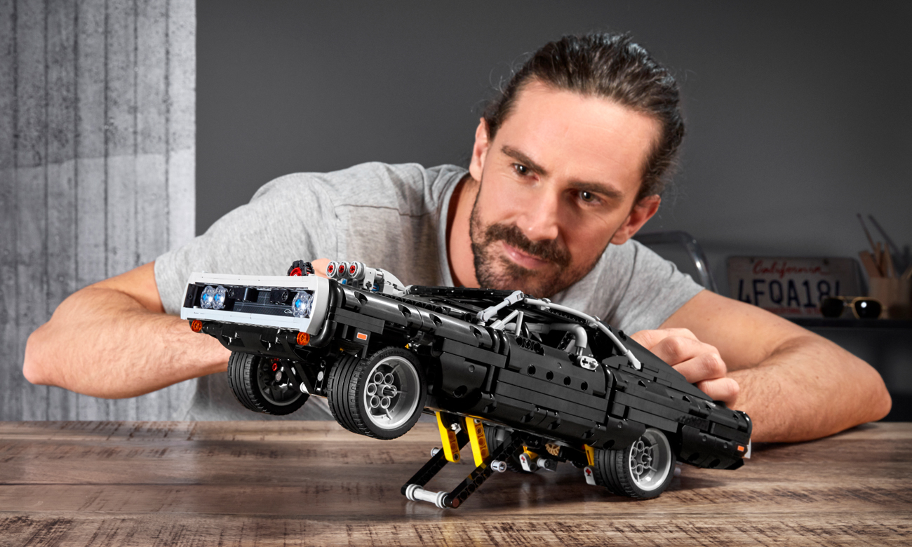 pojazd lego technik