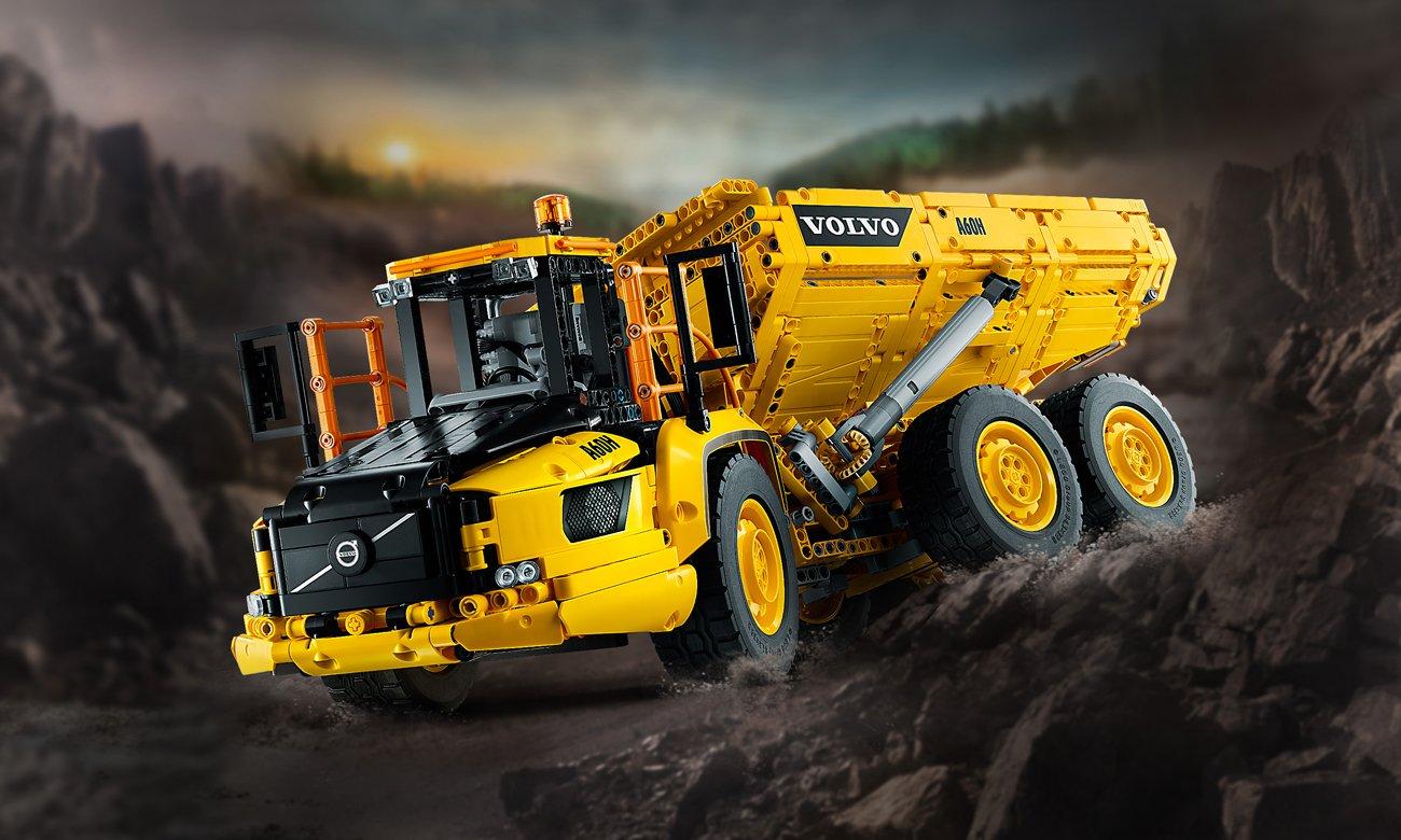LEGO Technic Wozidło przegubowe Volvo 6x6
