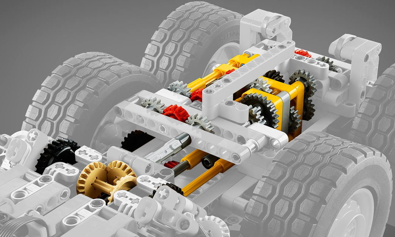 pojazd latający lego technik