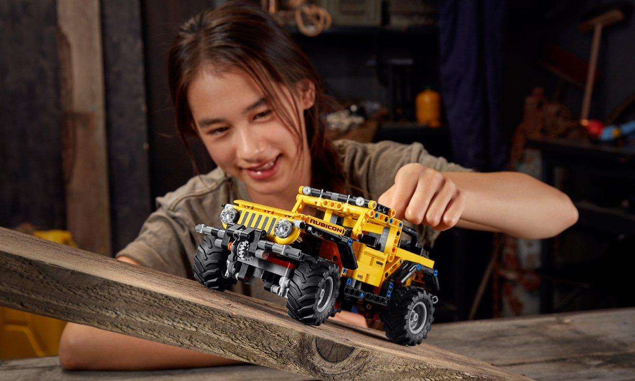 jeep z klocków lego