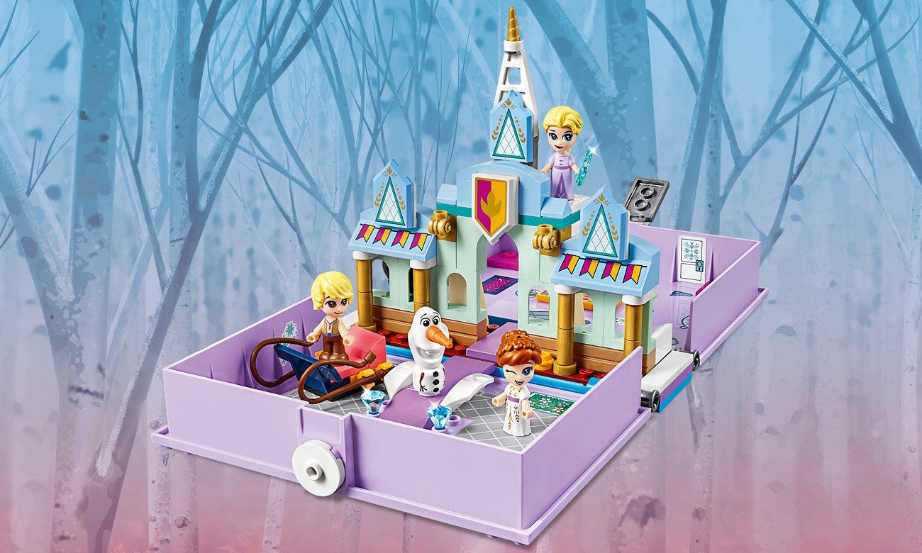 LEGO Disney Książka z przygodami Anny i Elsy