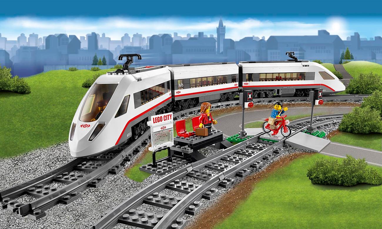 Lego City Superszybki Pociąg Pasażerski Klocki Lego Sklep