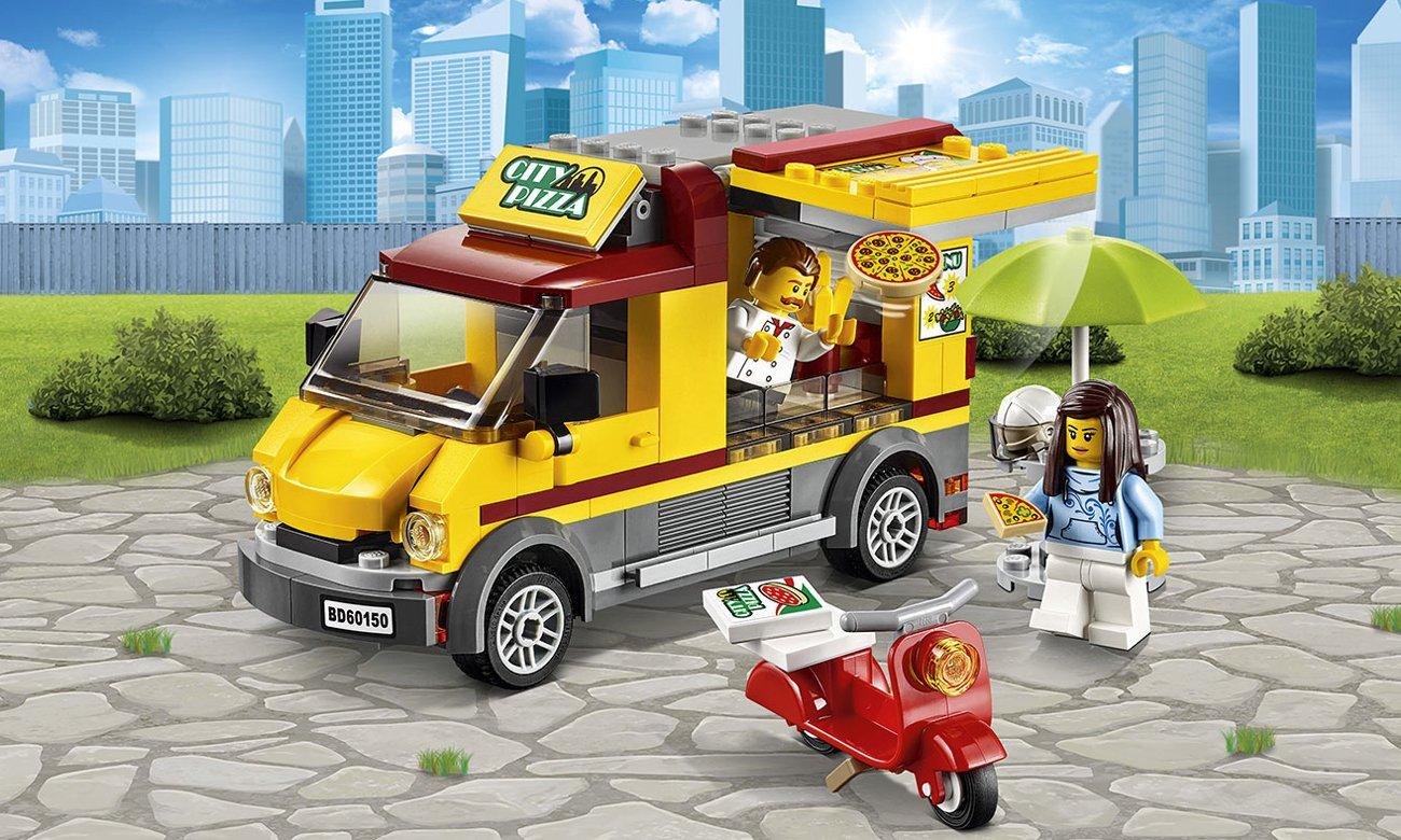 Lego City Foodtruck Z Pizzą Klocki Lego Sklep Internetowy Alto