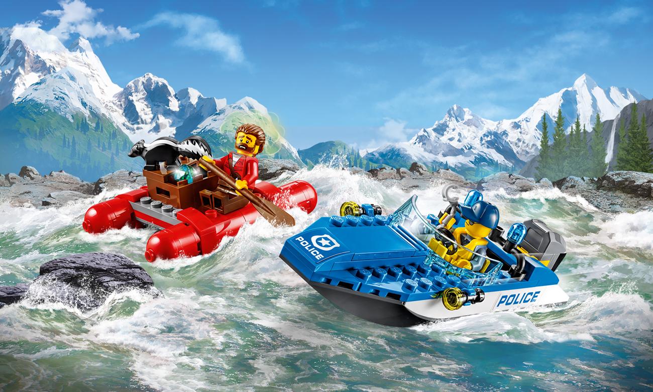 LEGO City Ucieczka rzeką