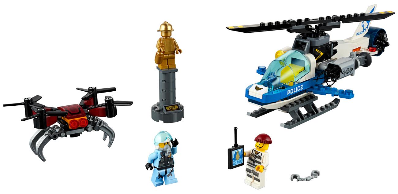 Lego City Pościg Policyjnym Dronem Klocki Lego Sklep