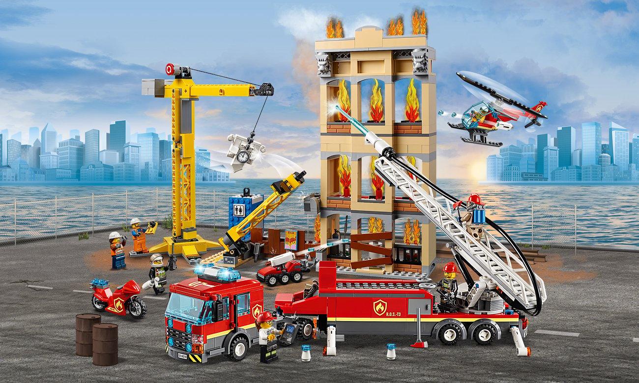 Lego City Straż Pożarna W śródmieściu Klocki Lego Sklep