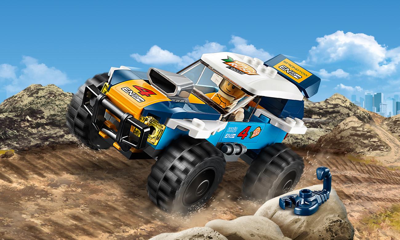 LEGO City Pustynna wyścigówka