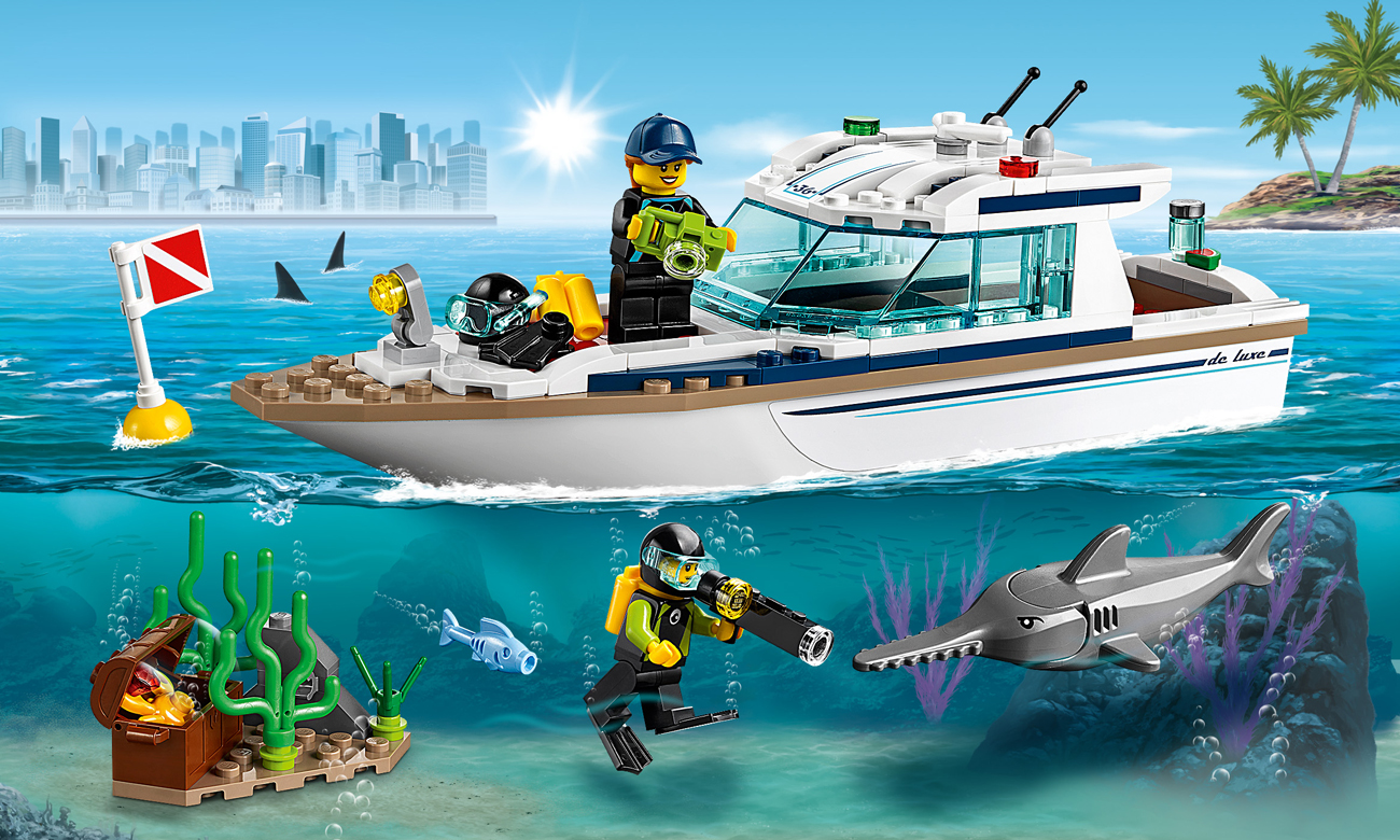 LEGO City Jacht
