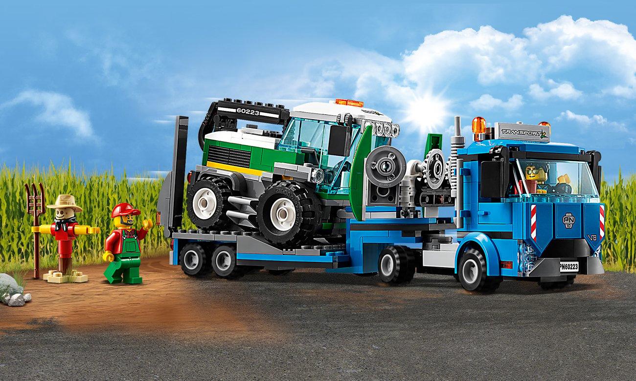 zestaw lego city traktor