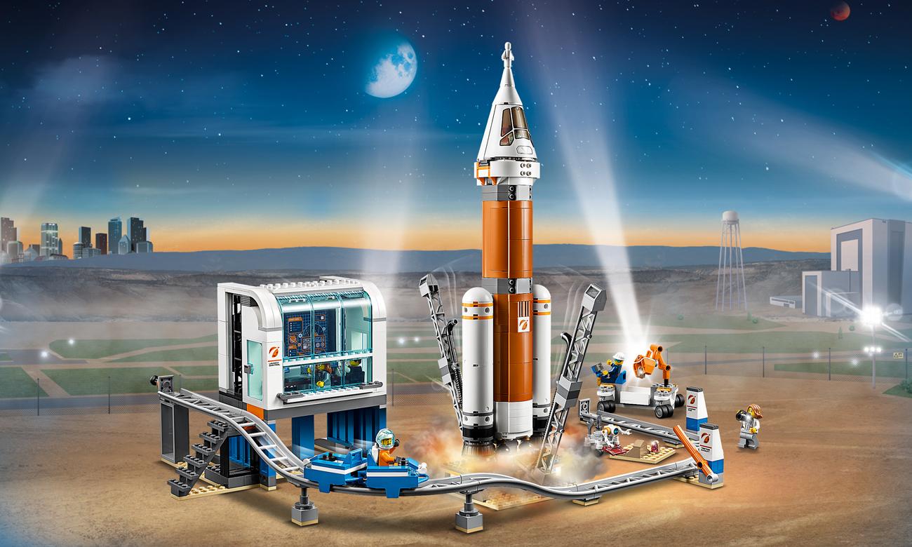 LEGO City Centrum lotów kosmicznych