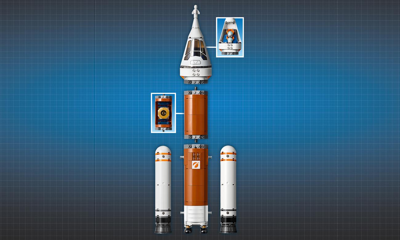 lego city rakieta kosmiczna