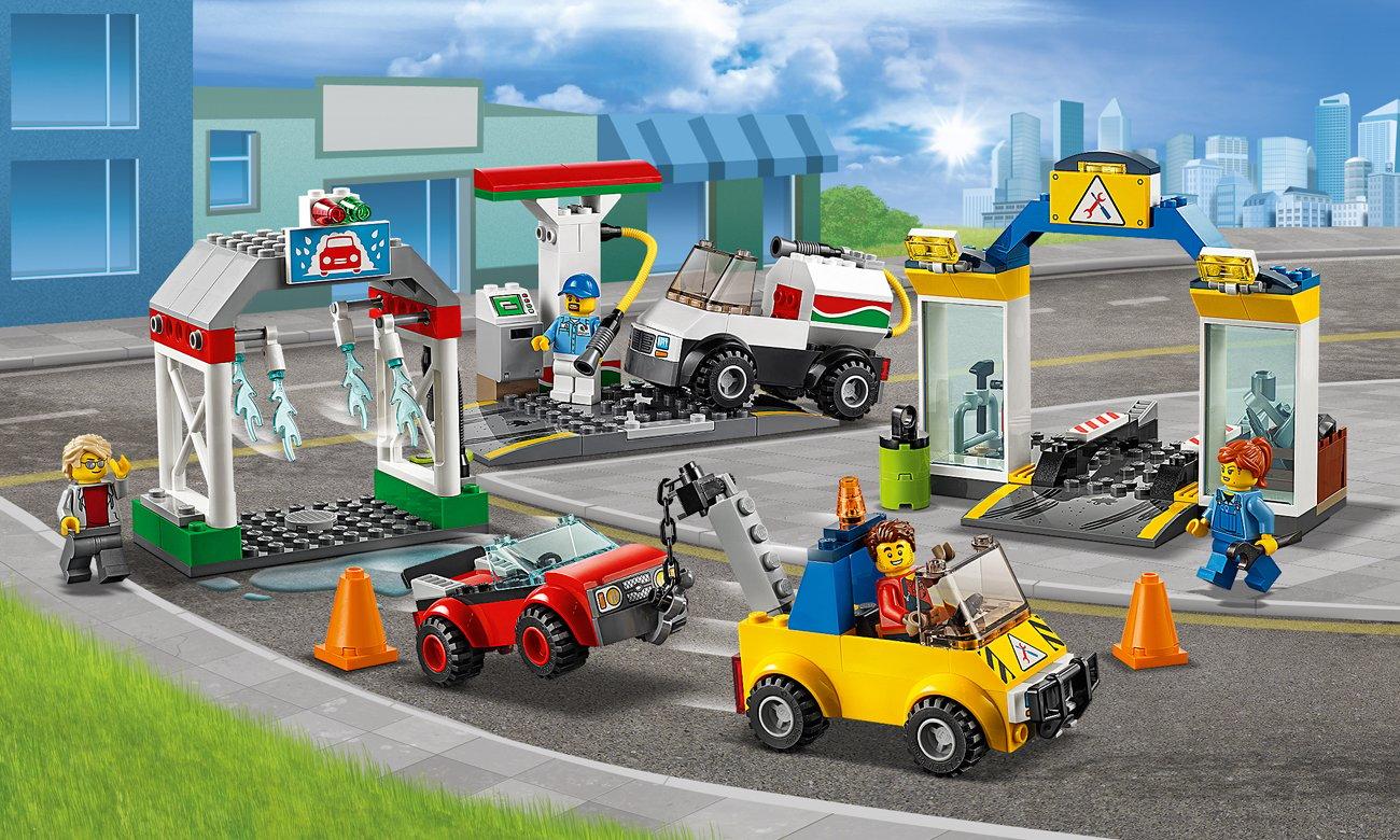 LEGO City Centrum motoryzacyjne