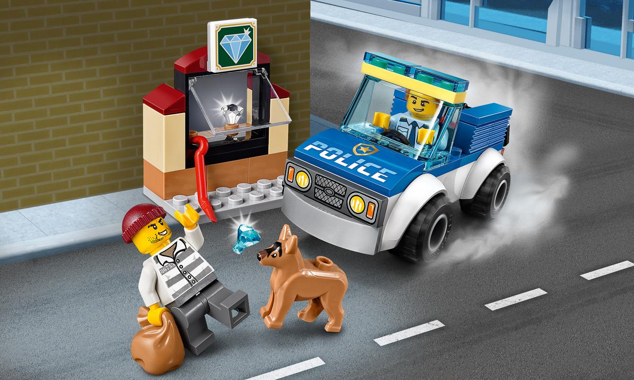 LEGO City Oddział policyjny z psem