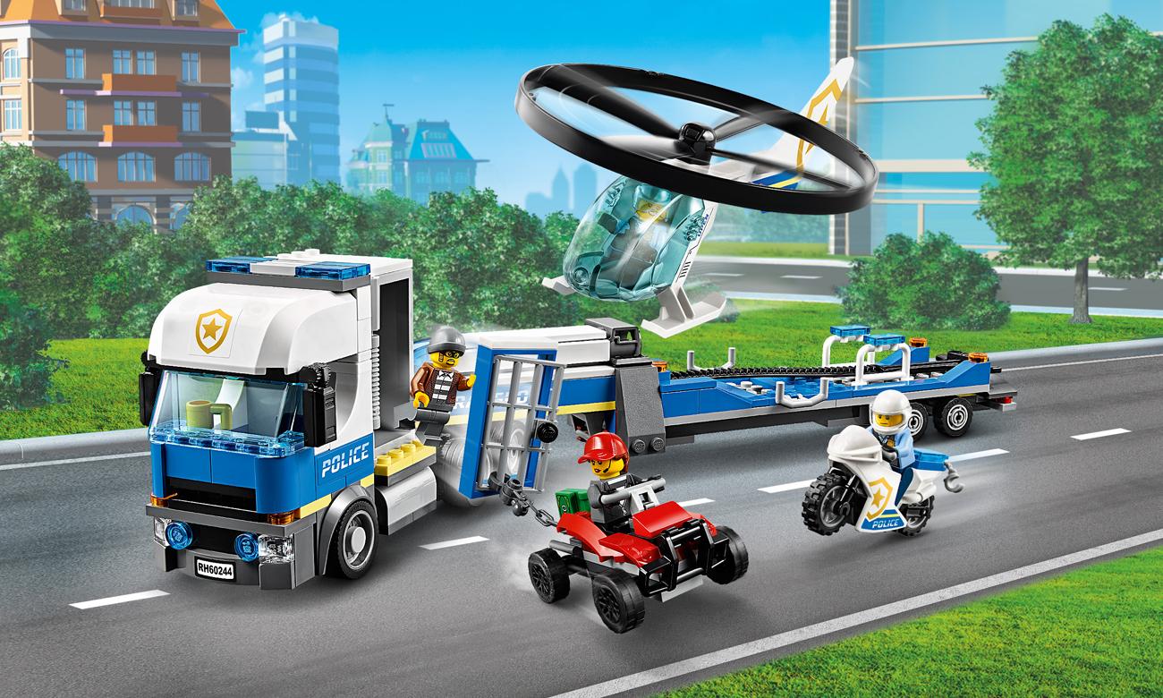 LEGO City Laweta helikoptera policyjnego