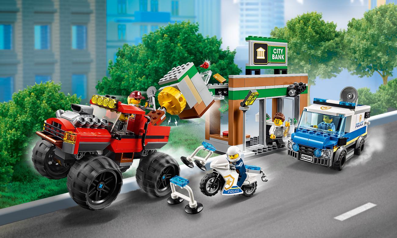 LEGO City Napad z monster truckiem